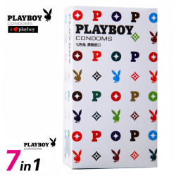 Playboy Premium Kondome 7in1 Kondom Set Geschenk Safersex Erotik
