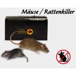 Elektrische Mausefalle Rattenfalle Tierfalle Einfach Sauber Diskret Neuheit
