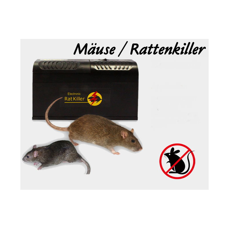 elektrische mausefalle rattenfalle tierfalle ratten m use maus falle einfach sauber diskret. Black Bedroom Furniture Sets. Home Design Ideas