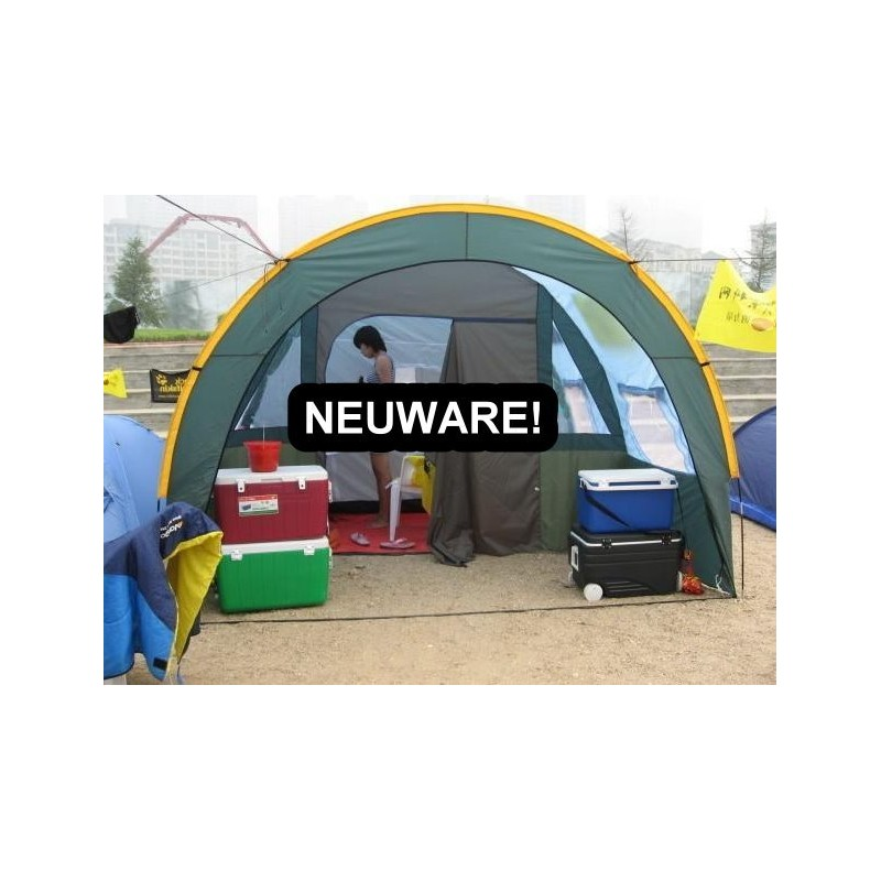 grosses tunnel zelt partyzelt hauszelt camping openair f r. Black Bedroom Furniture Sets. Home Design Ideas