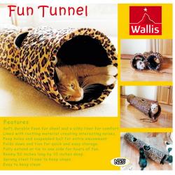 Katzentunnel Katzen Tunnel Leopard Design Katzen Spielzeug Katzenspielzeug Verstecken Zuhause