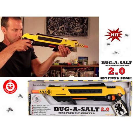 Bug-A-Salt Bug a Salt Version 2.0 Flinte Fliegen Jagd Fliegenkiller Bug-A-Salt Salz Schrotflinte Salzgewehr gegen Fliegen