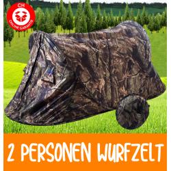 Getarntes Wurf Zelt Wurfzelt Pop Up Zelt Camping Festival Jagd Schnell Rapid Popup Zält kleines Packmass