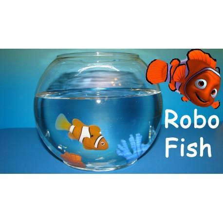 Robo Fisch Fish Clownfisch Nemo Roboter Aquarium schwimmender Roboterfisch Spielzeug Geschenk Kinder