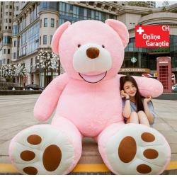 Teddy Teddybär Plüsch Bär Kuschelbär Plüschtier Pink Rosa Mädchen Geschenk XXL Kind Frau Freundin Weihnachten Geburtstag