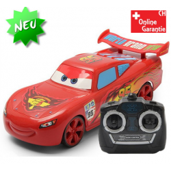 Ferngesteuerter Cars Lightning McQueen Auto RC Neuheit 4 Kanal Steuerung 4WD Spielzeug Auto