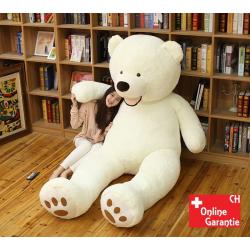 Eisbär Eis Bär Plüsch Bär Teddy Teddybär Weiss Kuschel Plüschbär Geschenk Weihnachten Geburtstag
