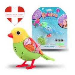 Bunter Vogel Singt Pfeift Lustiges Geschenk Spielzeugvogel mit Pfeifring Kind Kinder