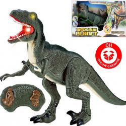 Ferngesteuert Ferngesteuerter Dinosaurier RC Velociraptor Spielzeug Kind Kinder Dino Jurassic Park Jurassic World Raptor