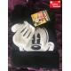 Disney Micky Maus Mickey Mouse Kind Kinder Kleidung Set Mütze Kappe Beanie Cap Handschuhe Handschuhen Winter