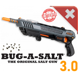 BUG-A-SALT 3.0 BLACK FLY EDITION Bug a Salt Version 3.0 Flinte Fliegen Jagd Fliegenkiller Salz Schrotflinte Salzgewehr