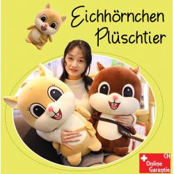 Eichhörnchen Plüsch Plüschtier Kuscheltier Stofftier XL Grösse Love U 60cm Geschenk Kind Frau