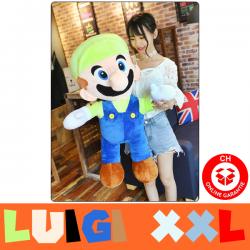 Nintendo Super Mario Supermario XXL Plüschtier 100 cm 1m Luigi Plüsch Figur Super Mario Bros. Spiel Videospiel Game