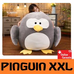 Pinguin Plüsch XXL grosses Kuscheltier Plüschtier Geschenk Kind Frau Freundin 100x110cm