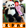 Panda Bär Teddybär Kuschelbär Plüschtier Kuscheltier Stofftier Pandabär Teddy Geschenk XXL 1.5m 150cm
