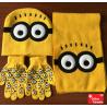 Ich – Einfach unverbesserlich Minion Minions Winter Mütze Schal Handschuhe Kind Kinder Fan