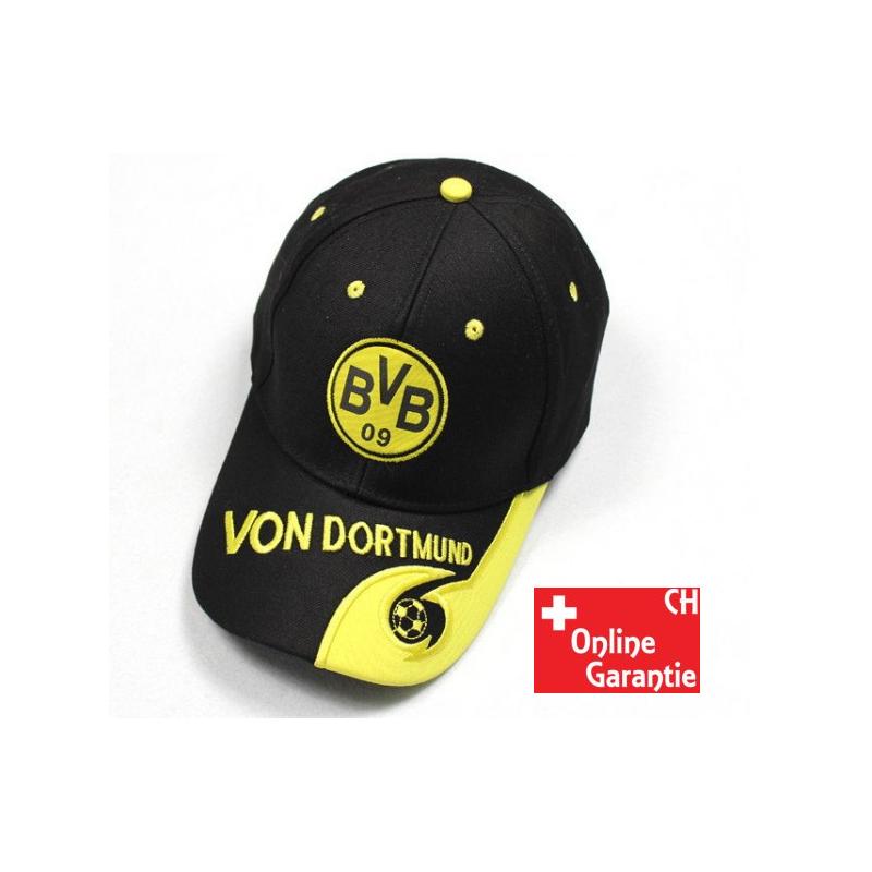Borussia Dortmund BVB 09 BVB-Kappe schwarz SCHWARZ//GELB