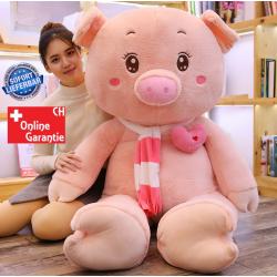 Schwein Plüsch Plüschtier XXL Schweinchen Plüschschwein Geschenk Frau Kind 210cm Love Liebe