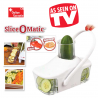 Slice O Matic Gemüse Obst Salat Früchte Vegi Hacker TV Julienne Hackmesser TV Werbung