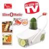 Slice O Matic Gemüse Obst Salat Früchte Vegi Julienne Schneider Hacker TV Hackmesser TV Werbung