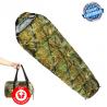 Militär Camping Schlafsack Mumien Zelt Openair Camouflage Reisen Konzerte Outdoor Festival
