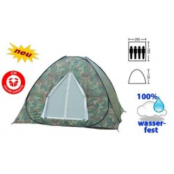 Militär Wurfzelt Schnellzelt Zelt Openair 3 Personen 2 Sekunden aufgebaut