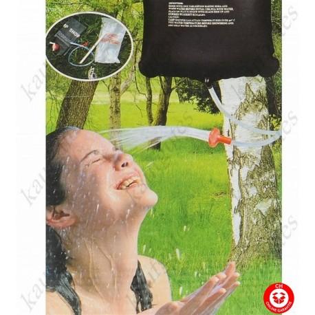 Solar Dusche Gartendusche Dusche Camping Ferien Openair Tragbar Mobil