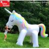 Einhorn Wasser Sprinkler Gartensprinkler Spielzeug Sommer Wasserspielzeug Kinder