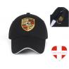 Porsche Cap Kappe Mütze Baseball Baseballcap Fan Schwarz Rot Logo