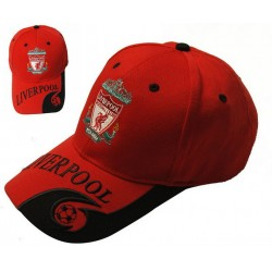FC Liverpool Cap Fan Football Club Mütze Kappe Baseball Rot Fussball England