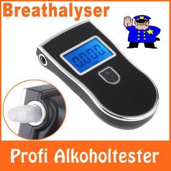 Profi Alk Alkohol Tester Auto Alkholtester Promilletester Alkoholwerk LCD Display