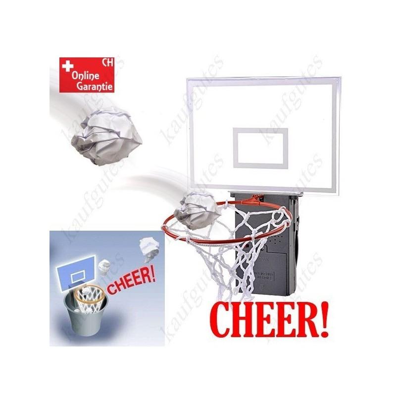 applaudierender basketballkorb basketball korb f r papierk rbe m lleimer mit sound geschenk b ro. Black Bedroom Furniture Sets. Home Design Ideas