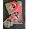 Disney Minnie Maus Winter Accessoire Mütze Beanie Schal Handschuhe Mädchen Kleidung