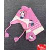 Hello Kitty Hellokitty Mütze Beanie Kappe Schal Handschuhe Mädchen Accessoire Fan