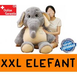 Elefant XXL Plüschtier Elefanten Plüsch Kuscheltier ca. 128cm Geschenk Kind Frau Freundin