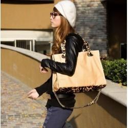 Leoparden Tasche Handtasche Frau Dame Sexy Modern Leopard Design Designer
