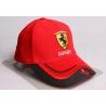Ferrari Cap Mütze Kappe Rot Baseball Auto Fan Zubehör Accessoire