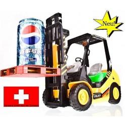 Ferngesteuerter Gabelstapler RC Hubwagen Spielzeug Kind Kinder Modellbau Hubmast