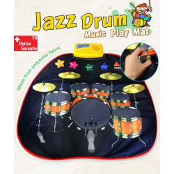 Musikdecke Spielzeug Matte Baby Kind Kinder Musik Instrument Jazz Drum Trommel