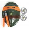 Teenage Mutant Ninja Turtles Ausrüstung Michelangelo Spielzeug Waffen Set TV Serie Kostüm
