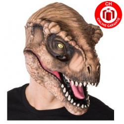 Tyrannosaurus Rex Dino Maske Original Dinosaurier Jurassic Park World T-Rex Latex Tiermaske Fasnacht Party Halloween