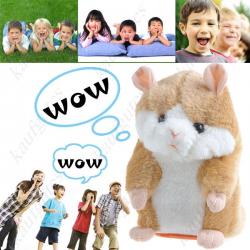 Sprechender Talking Süsser Plüsch Hamster Spielzeug Weltneuheit Geschenk Kinder Kids