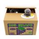 Katzen Sparschwein elektrische Spardose Katze in der Kiste Geschenk Kinder