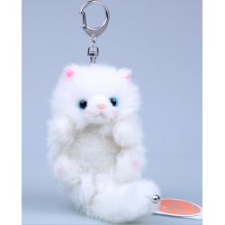 Katzen Katze Plüsch Schlüsselanhänger Katzenschlüsselanhänger Süss Anhänger Geschenk