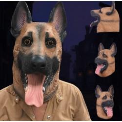 Schäfer Hunde Hund Maske Schäferhund Hundemaske Tiermaske Fasnacht Party Neu