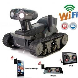 Ferngesteuertes WiFi Spionage Handy Smartphone Auto Panzer Spielzeug gesteuert per iPhone iPad Android Samsung