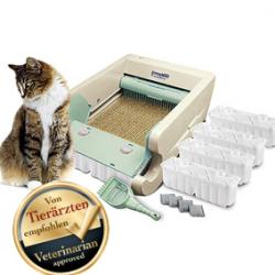 Automatische Katzen Toilette Katzen WC Katzenwc Katzentoilette gereinigt von Tierärzten empfohlen