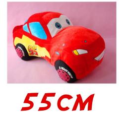 Pixar Cars Lightning McQueen Kuscheltier Plüsch Tier Plüschtier 55cm Geschenk