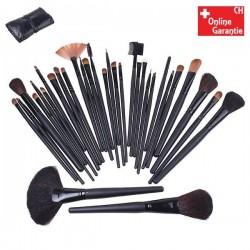Kosmetik Makeup Pinsel Bürsten 32 tlg Set Pinselset Bürstenset Kosmetikpinsel