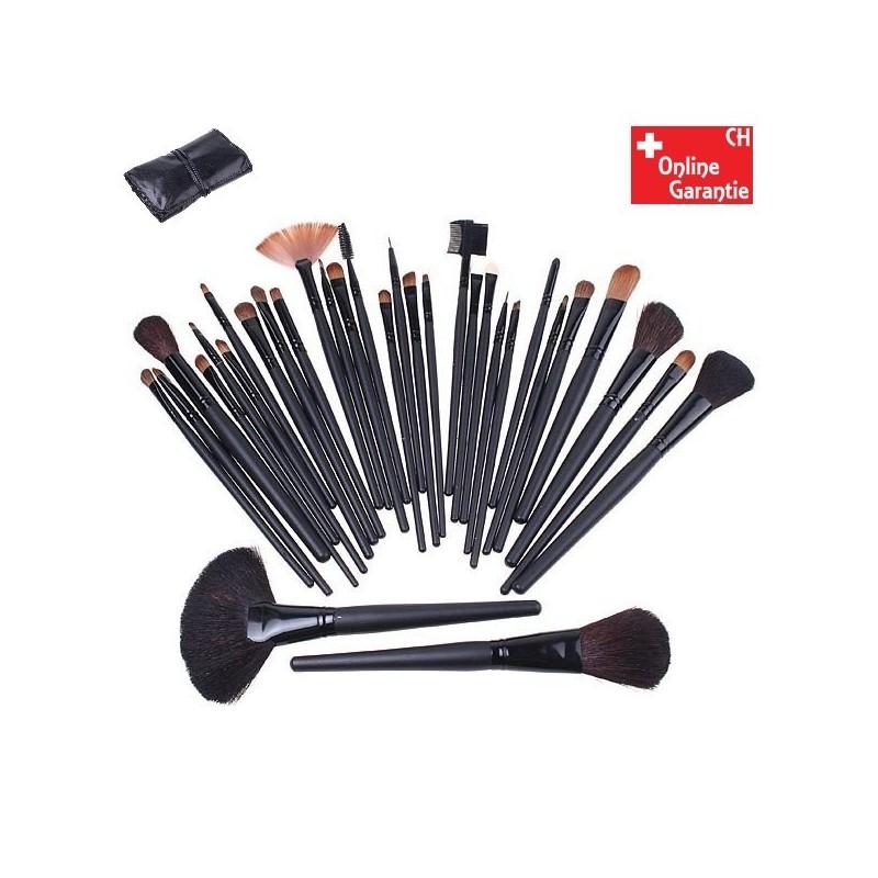 kosmetik makeup pinsel b rsten 32 tlg set pinselset b rstenset kosmetikpinsel. Black Bedroom Furniture Sets. Home Design Ideas